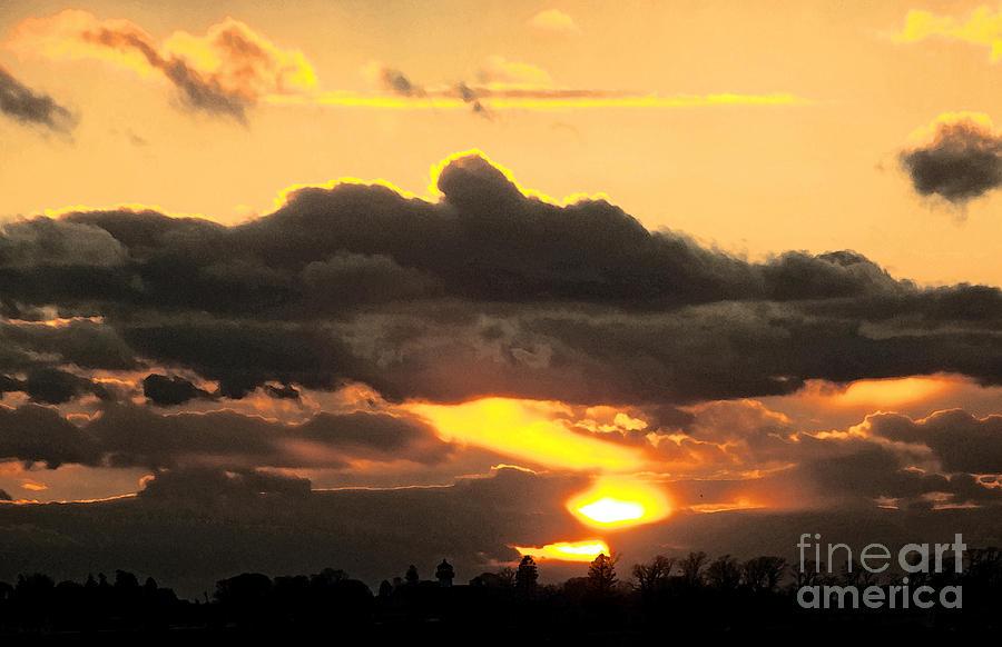 Sunset Photograph - Hot Spot by Joe Geraci