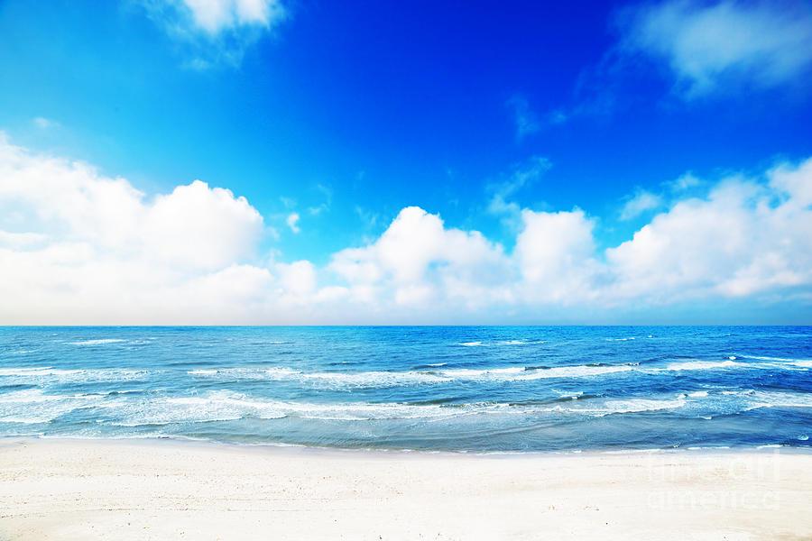 Hot Photograph - Hot Summer Beach by Michal Bednarek