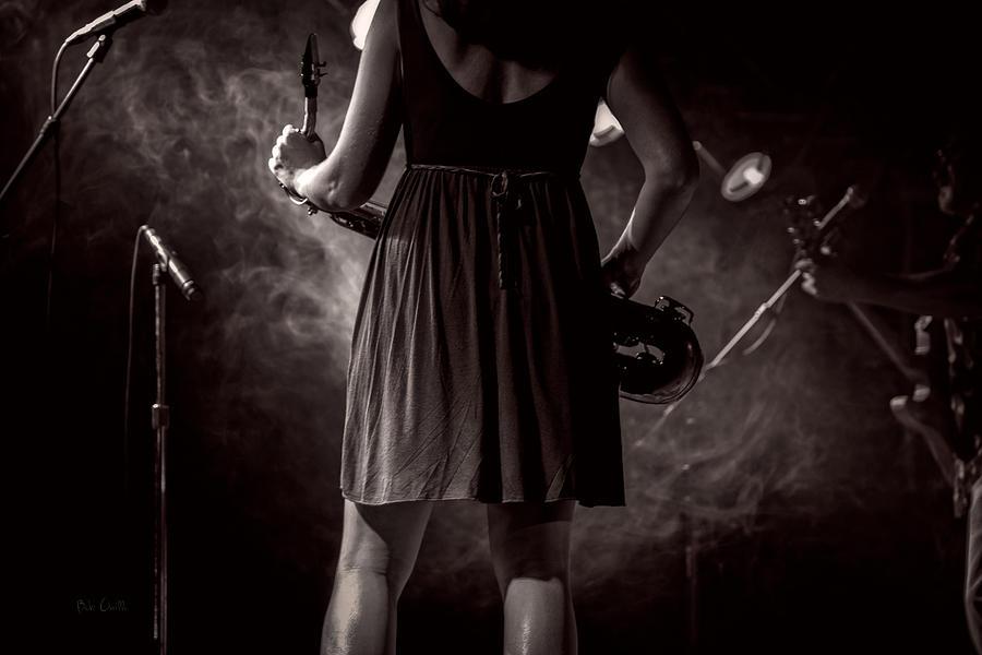 Sax Photograph - Hot Summer Night by Bob Orsillo