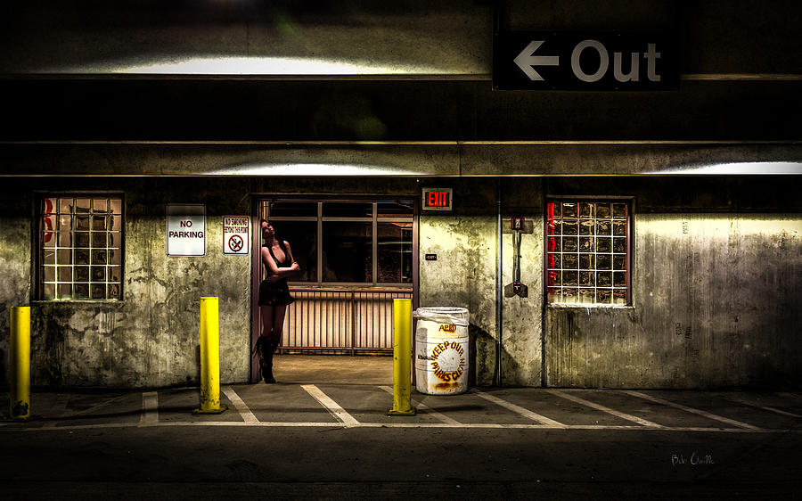 Night Photograph - Hot Summer Night Out by Bob Orsillo