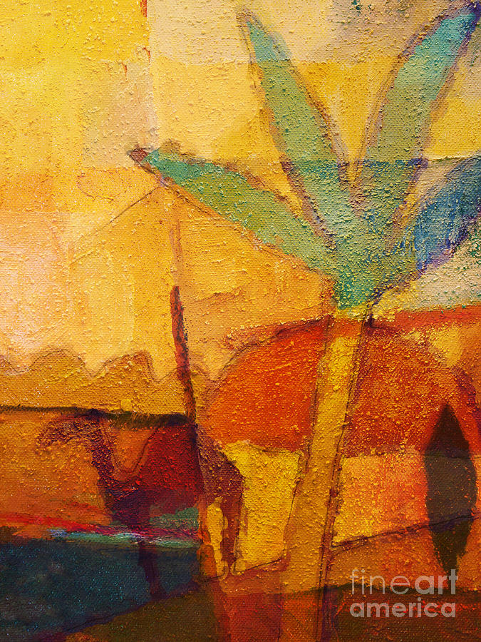 Impressionism Painting - Hot Sun by Lutz Baar