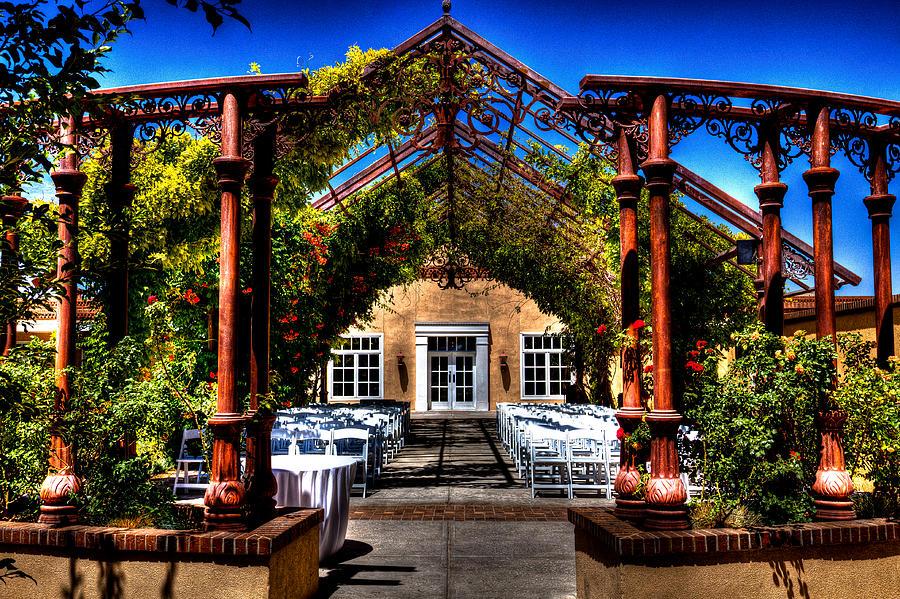 Wedding Invitations Albuquerque: Hotel Albuquerque Wedding Pavilion Photograph By David