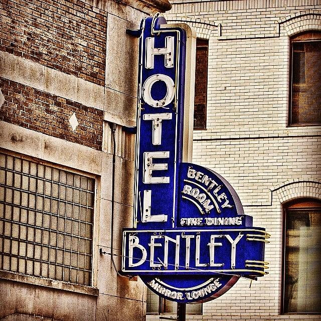 Hefe Photograph - Hotel Bently by Scott Pellegrin