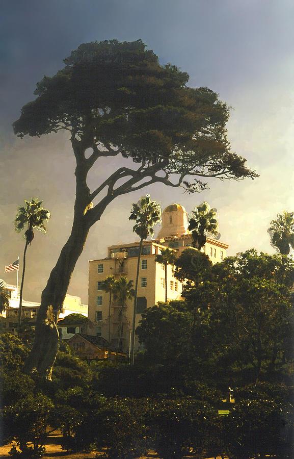 Landscape Photograph - Hotel California- La Jolla by Steve Karol