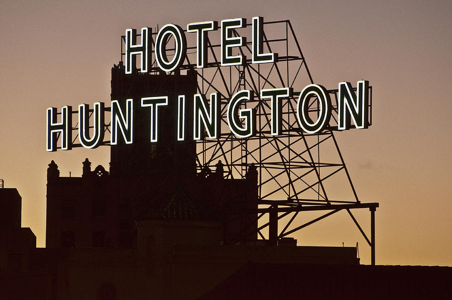Architecture Photograph - Hotel Huntington by Larry Butterworth