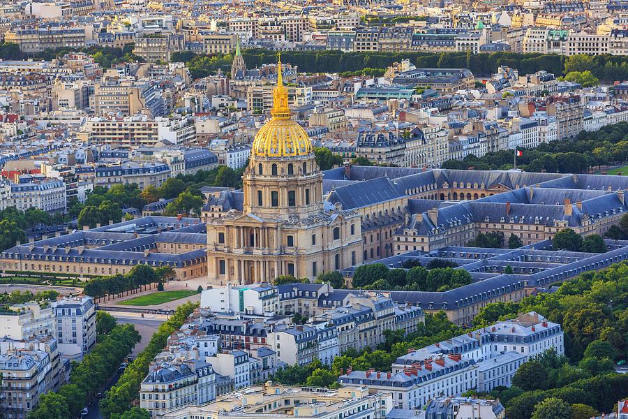 Hotel National Des Invalides, Paris Photograph by Pawel Libera