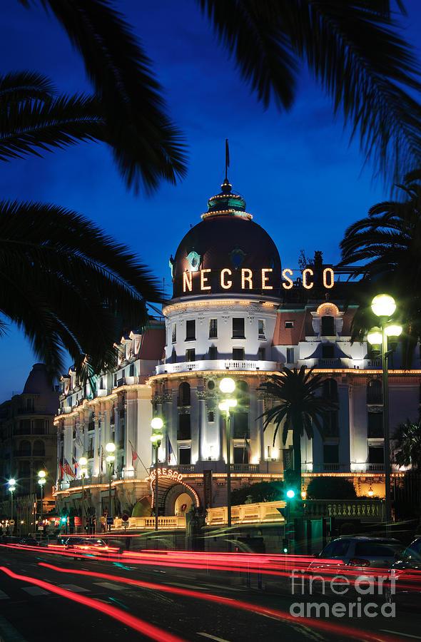 Cote D'azur Photograph - Hotel Negresco by Inge Johnsson