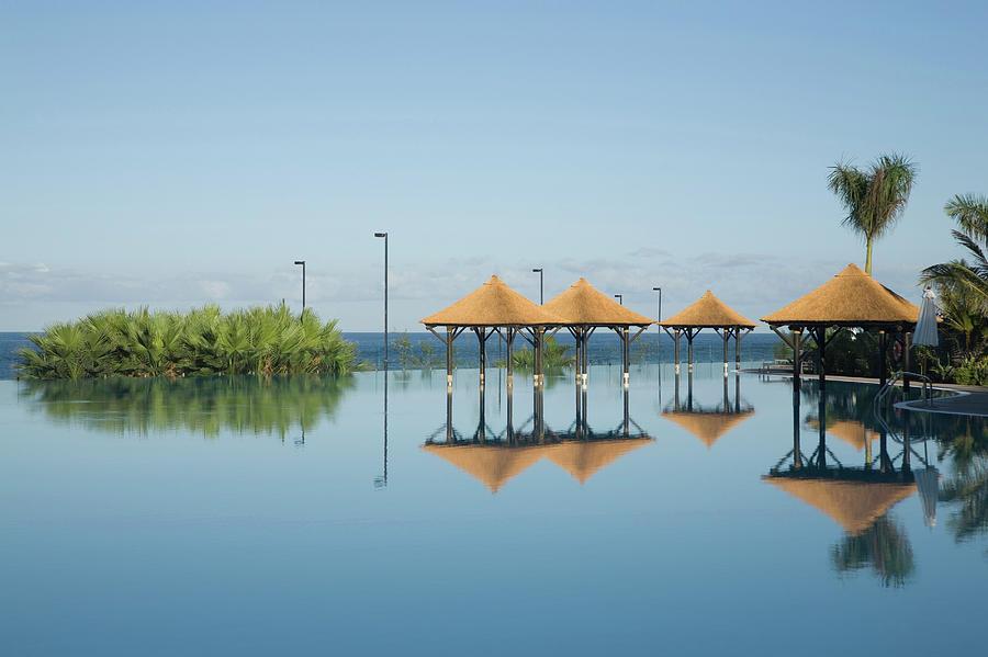 Hotel Pool, Tenerife, Canary Islands Photograph by Cultura Rm Exclusive/ubach/de La Riva