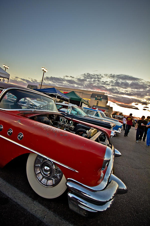 Hotrod Photograph - Hotrod Buick  by Merrick Imagery