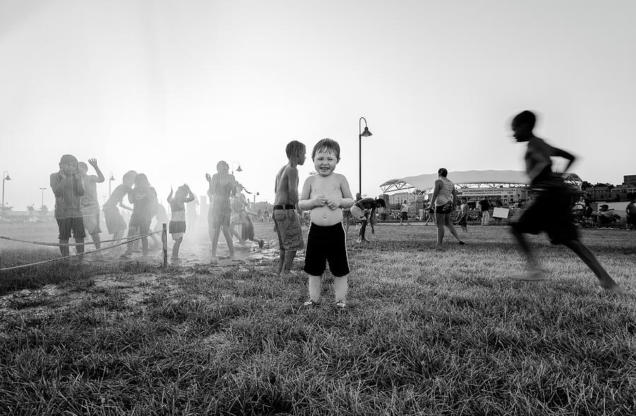 Child Photograph - Hottest Days Of Summer by Michael Weaver