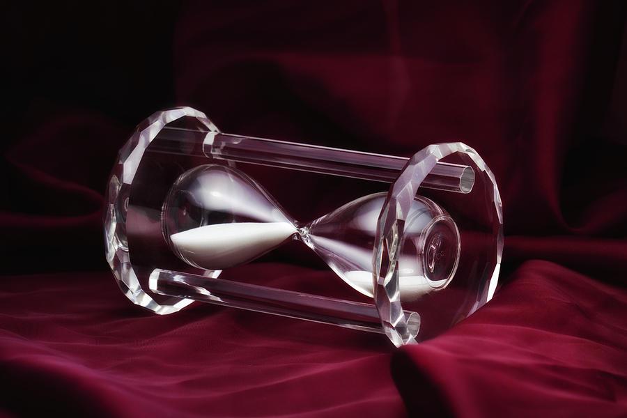 Clear Photograph - Hourglass Still Life by Tom Mc Nemar