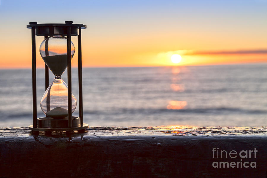 Hourglass Photograph - Hourglass Sunrise by Colin and Linda McKie