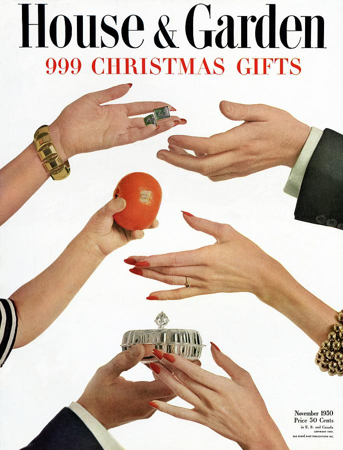 House And Garden 999 Christmas Gifts Cover Photograph by Herbert Matter
