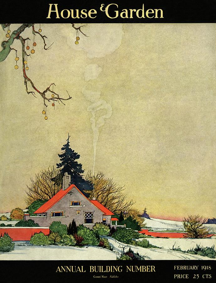 House And Garden Annual Building Number Cover Photograph by Charles Livingston Bull