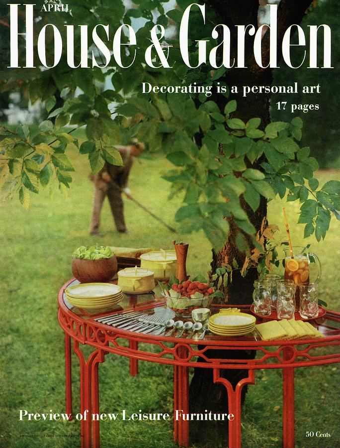 House And Garden Cover Photograph by Horst P. Horst