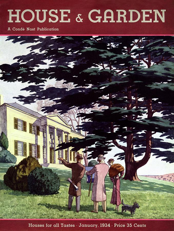 House And Garden Houses For All Tastes Cover Photograph by Pierre Brissaud
