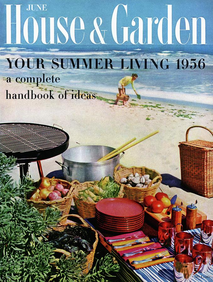 House And Garden Ideas For Summer Issue Cover Photograph by Tom Leonard