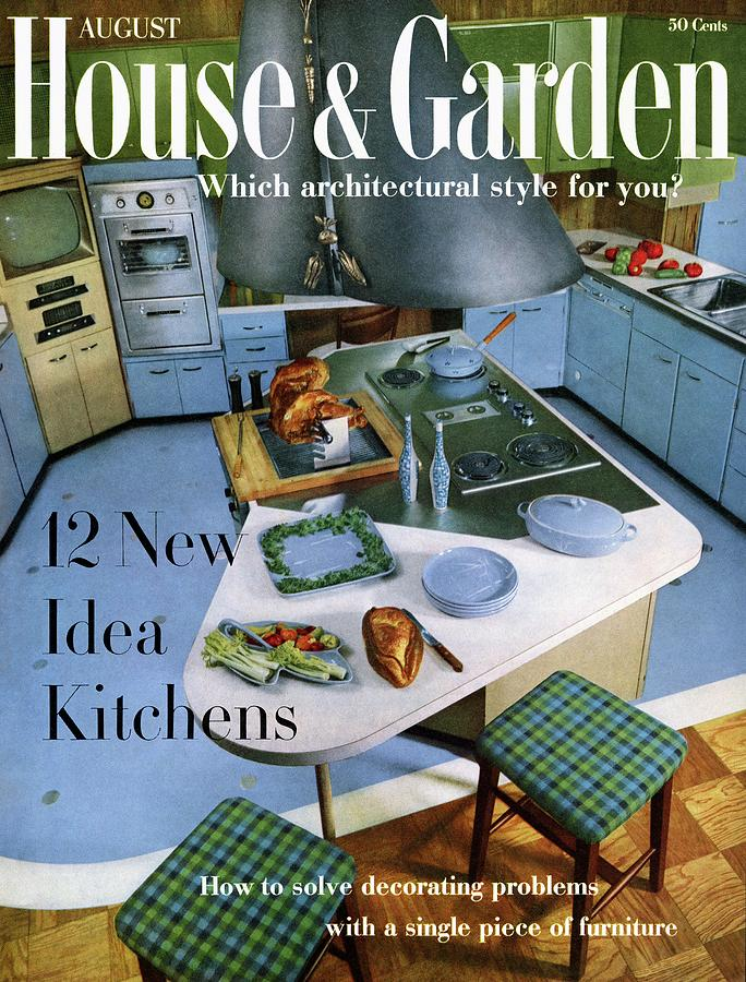 House And Garden Kitchen Ideas Issue Photograph by George De Gennaro