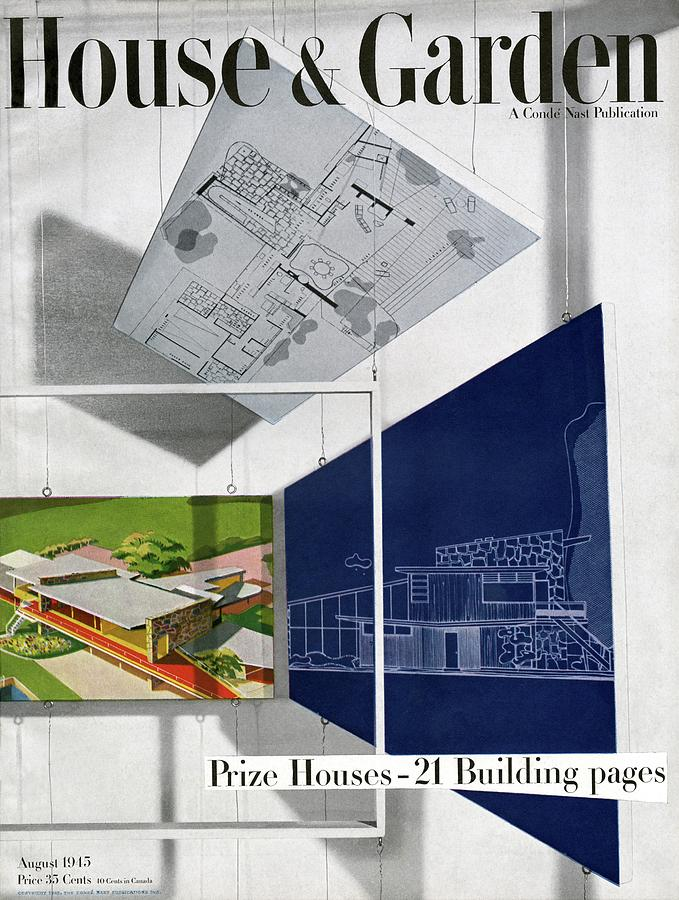 House And Garden Prize House Cover Photograph by Howard Beyer
