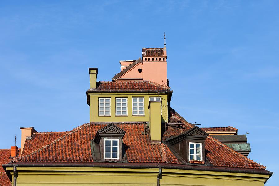 Warsaw Photograph - House Attic by Artur Bogacki