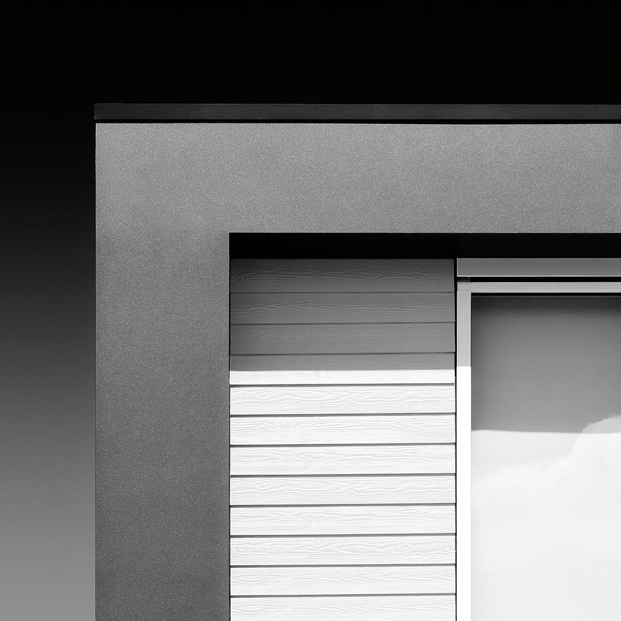 Modern Architecture Photograph - House Corner by Dave Bowman
