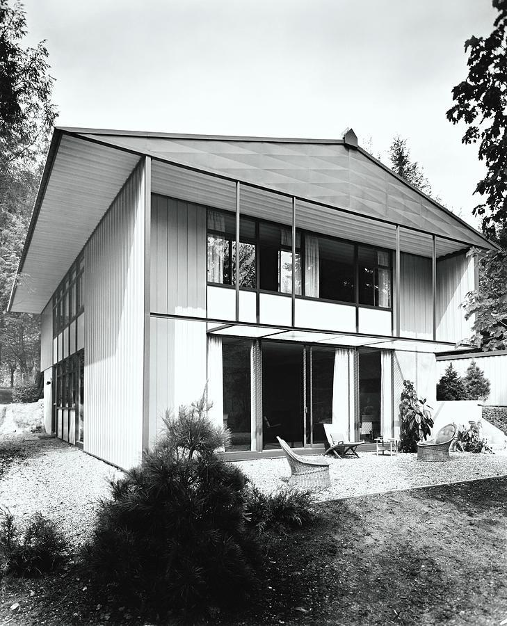 House Exterior Photograph by Pedro E. Guerrero