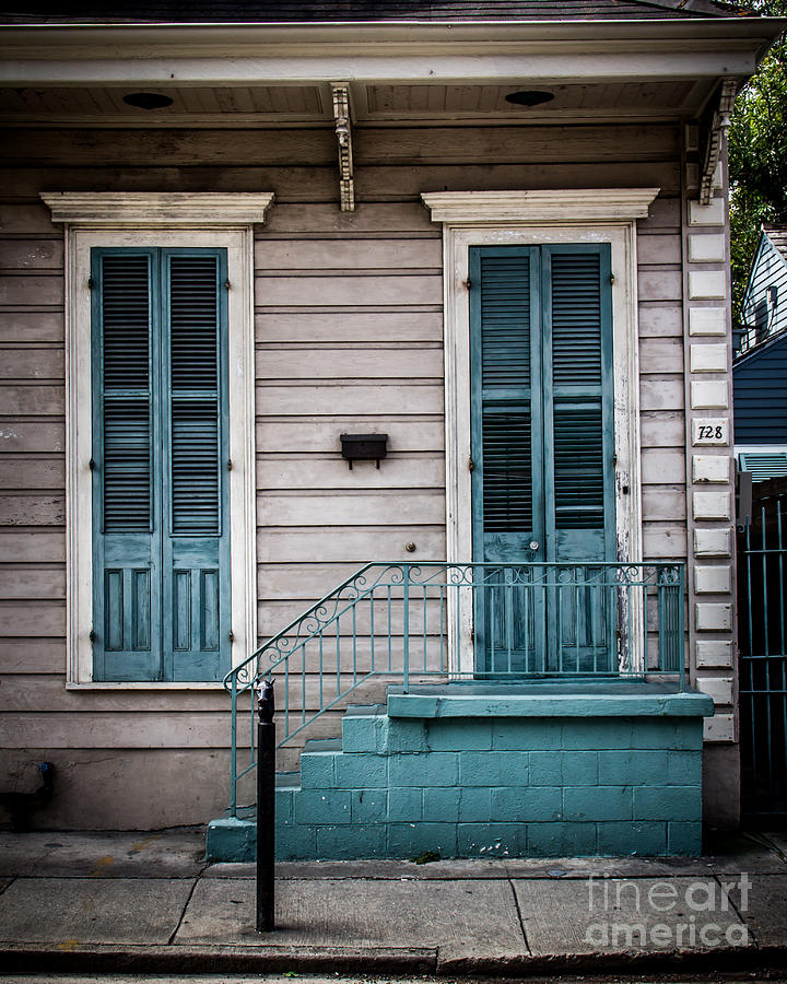 New Orleans Photograph - House Of Blue Doors by Perry Webster