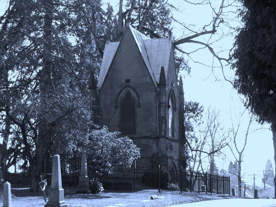 Cemetery Photograph - House Of Corpses by Heather L Wright