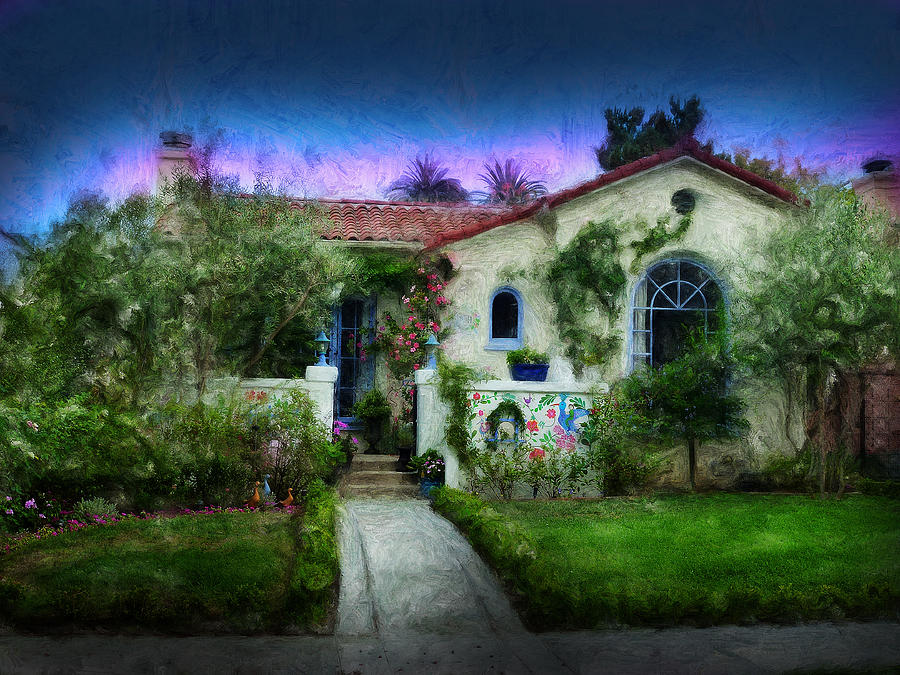 Artwork Digital Art - House Of Our Dreams by Cary Shapiro