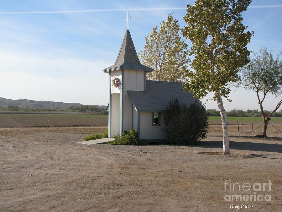 Patzer Photograph - House Of The Lord by Greg Patzer