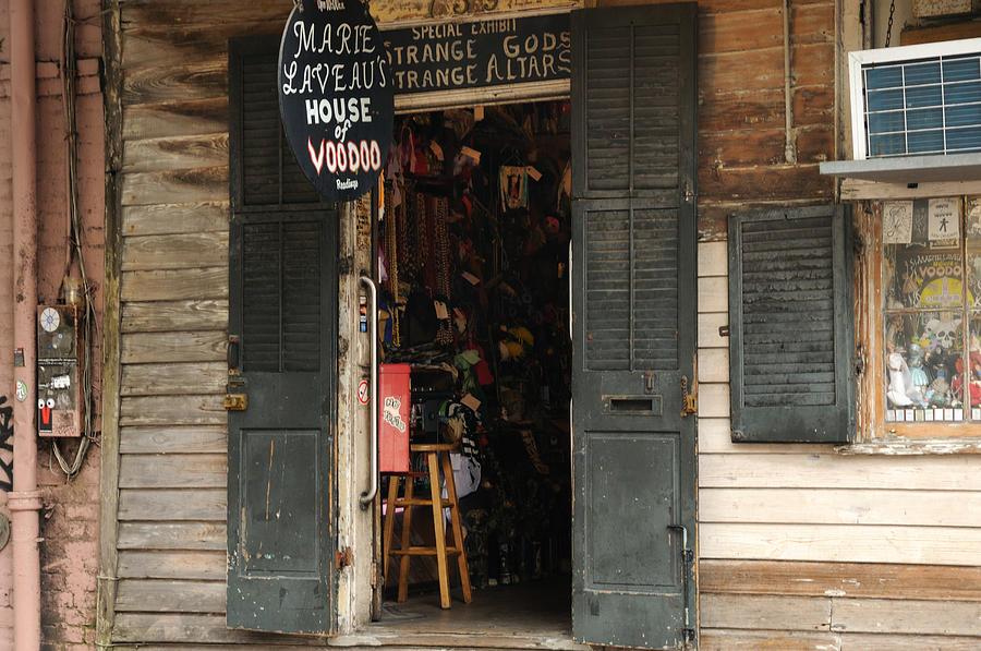 Bourbon Street Photograph - House Of Voodoo by Bradford Martin