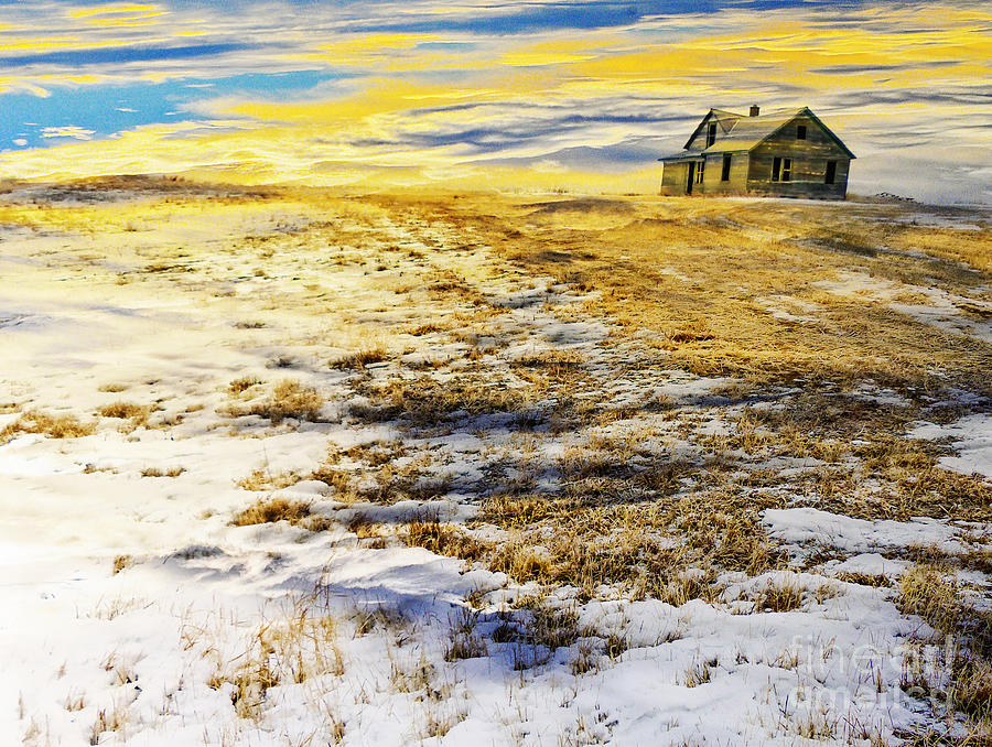 House on the Hill horizontal version by Judy Wood