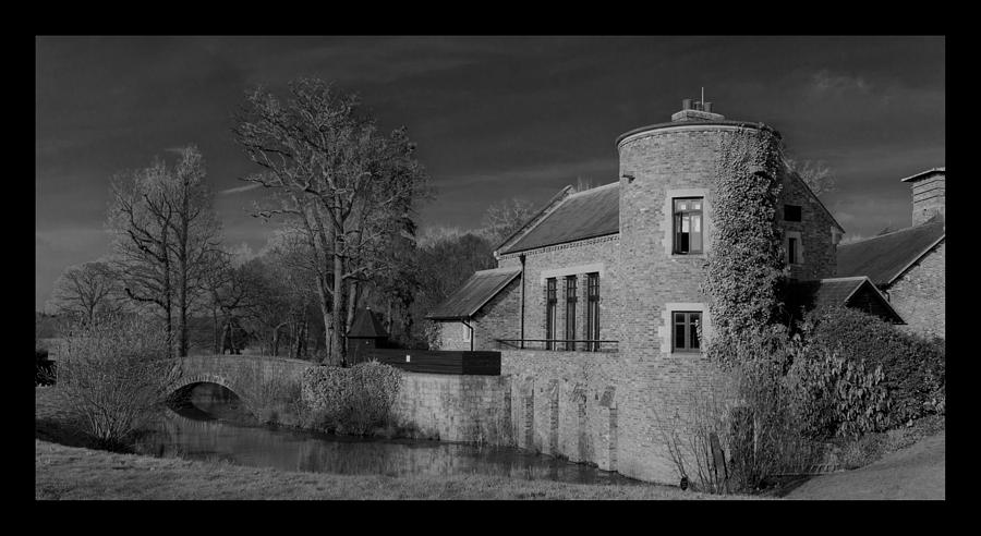 River Photograph - House On The River by Maj Seda
