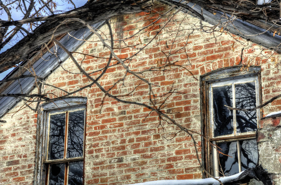 House Two Windows 13089 Photograph