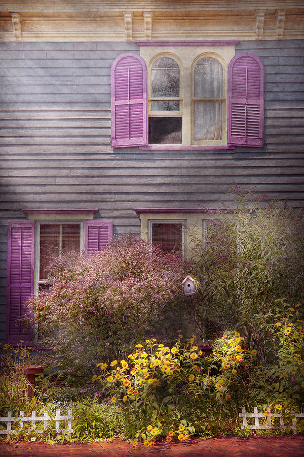 Victorian Photograph - House - Victorian - A House To Call My Own  by Mike Savad