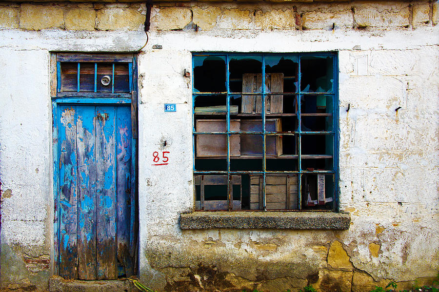 Turkey Photograph - Housefront Turkey by Tarkan Rosenberg