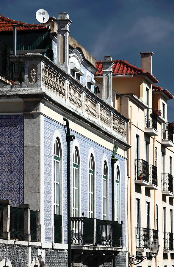 Houses Photograph - Houses In Alfama by John Rizzuto