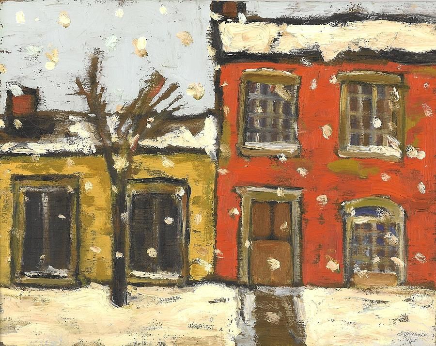 Houses In Sydenham Ward Painting