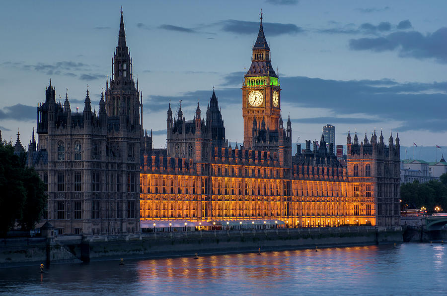 Houses Of Parliament And Big Ben Are Photograph by Charles Bowman