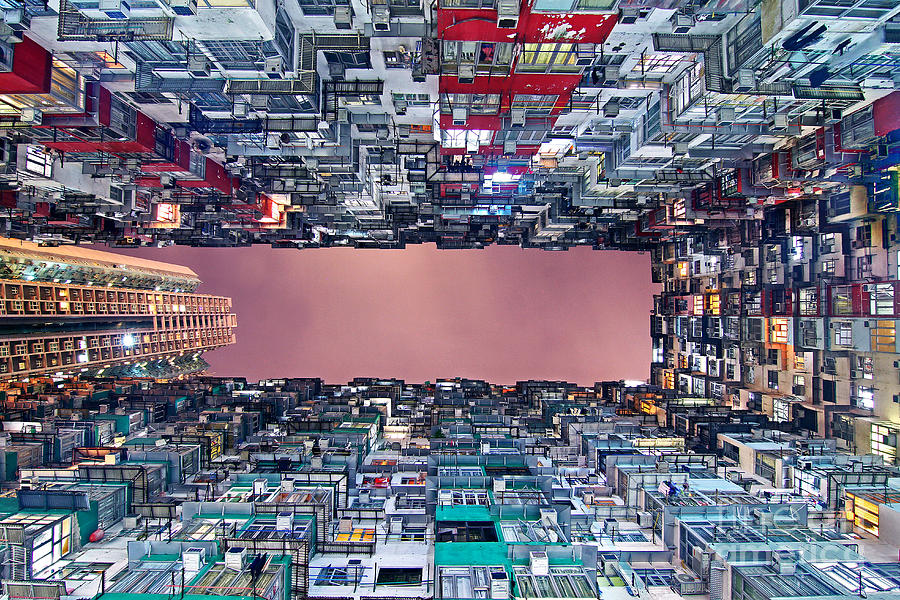 Hong Kong Photograph - Housing by Lars Ruecker