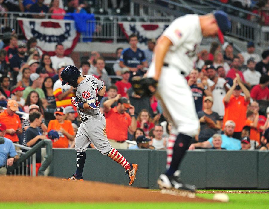 Houston Astros V Atlanta Braves Photograph by Scott Cunningham