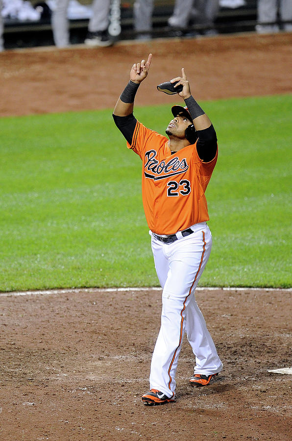 Houston Astros V Baltimore Orioles Photograph by Greg Fiume
