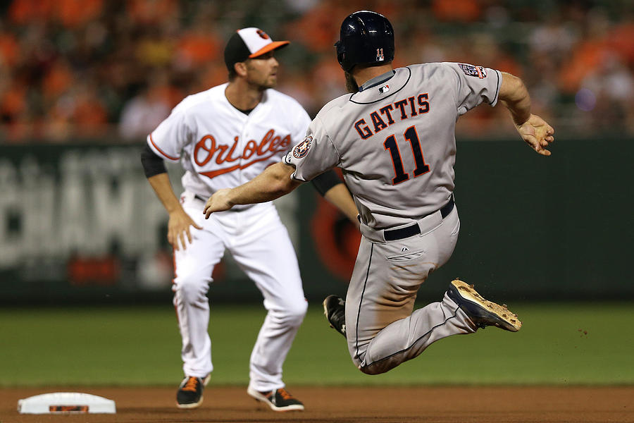 Houston Astros V Baltimore Orioles Photograph by Patrick Smith