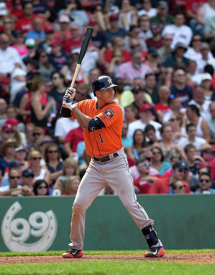 Houston Astros V Boston Red Sox Photograph by Rich Gagnon