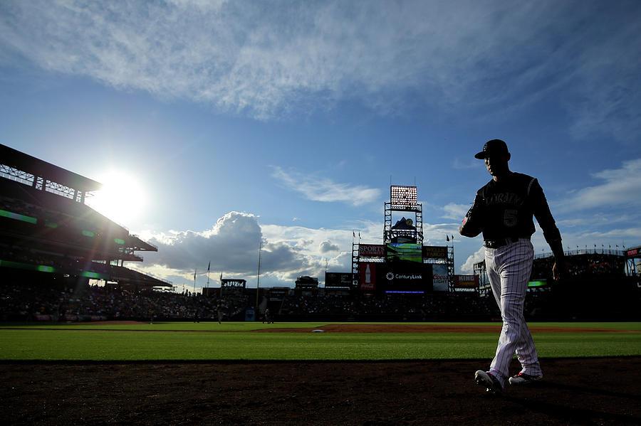 Houston Astros V Colorado Rockies Photograph by Justin Edmonds