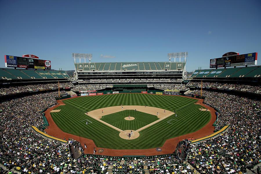 Houston Astros V Oakland Athletics Photograph by Ezra Shaw