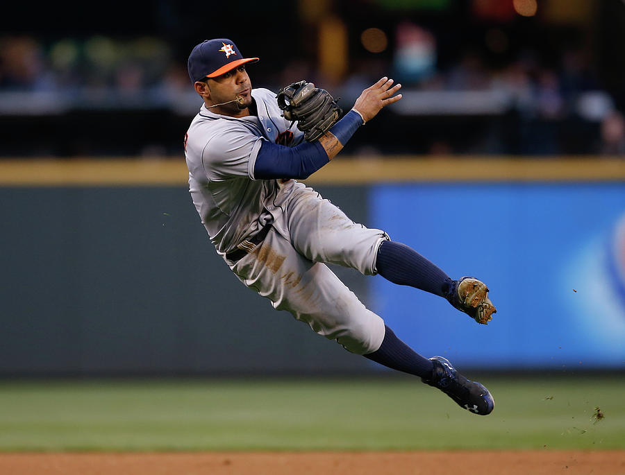 Houston Astros V Seattle Mariners Photograph by Otto Greule Jr