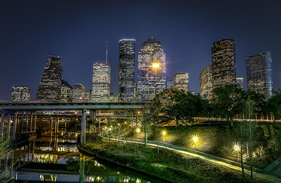 Houston On The Bayou Photograph
