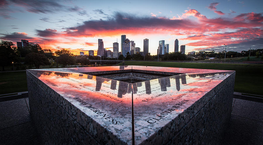 Houston Police Memorial by Chris Multop
