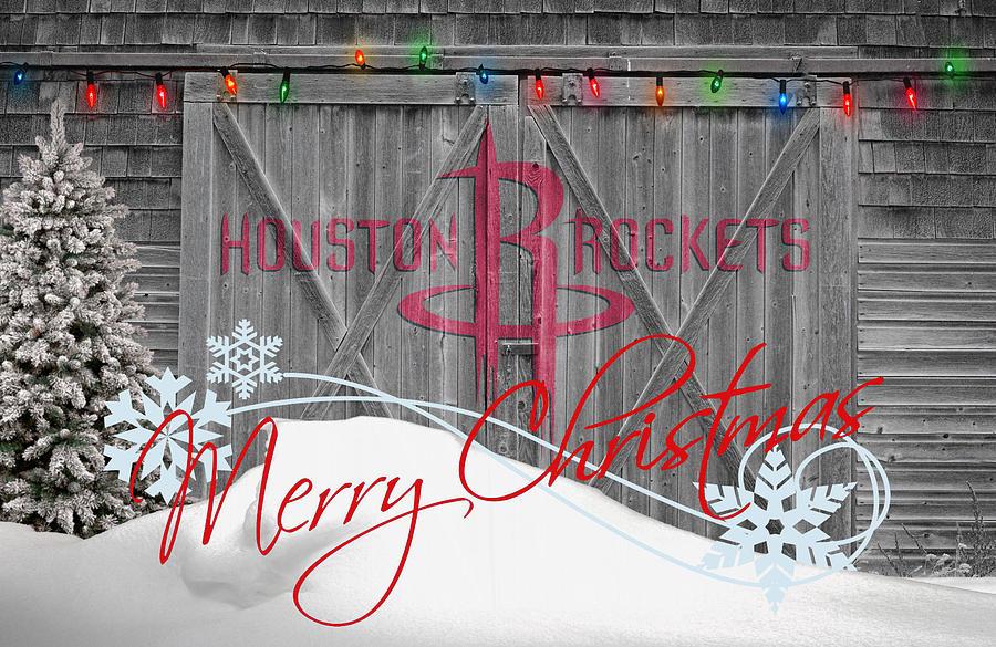 Rockets Photograph - Houston Rockets by Joe Hamilton